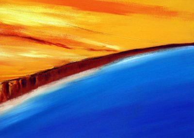Abstrakte Landschaft XXXI