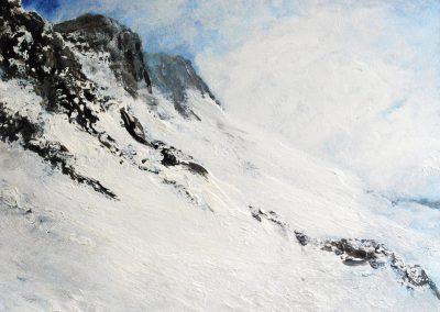 Berge XXXI - Acryl auf Leinwand - 80 x 100 cm