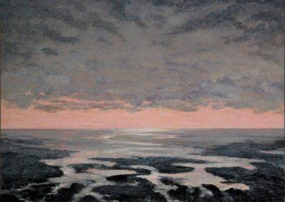 Bilder vom Meer 4 - Acryl auf Leinwand  - 100 x 120 cm
