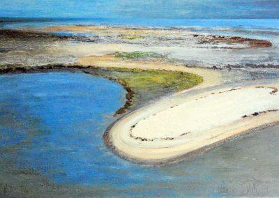 Strand - Acryl auf Leinwand - 80 x 120 cm