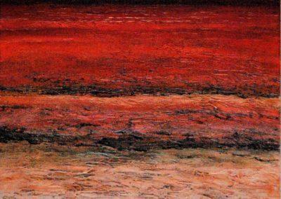 Untiefen 2 - Acryl auf Leinwand - 50 x 60 cm